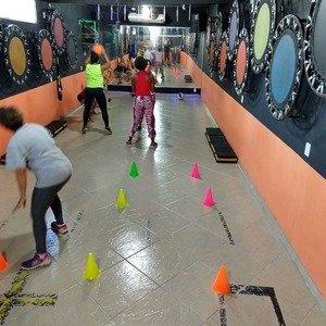 Academia alto estilo fitness