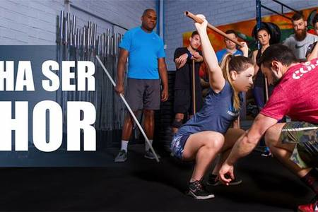 CrossFit Iron Soldier -