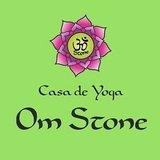 Casa De Yoga Om Stone - logo