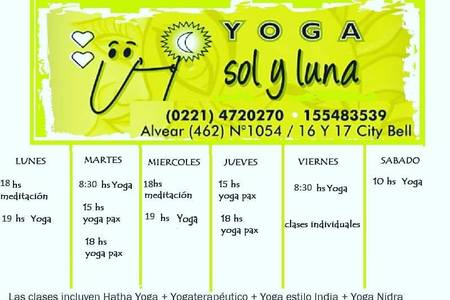 Yoga Sol Y Luna City Bell