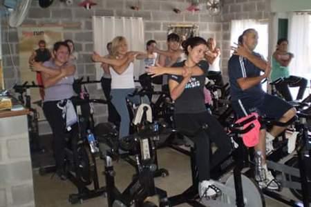 just spinning -