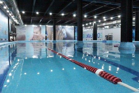 Zwemmen Exhibimex -