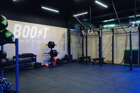 Boost Fitness Project -