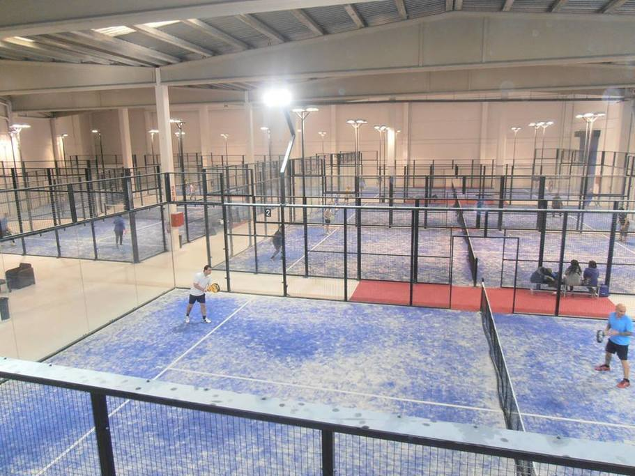 Pretty Padel Indoor Cuarte Images >> Padel Indoor Aragon Reserva De ...