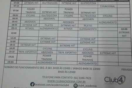 Club 4 Academia
